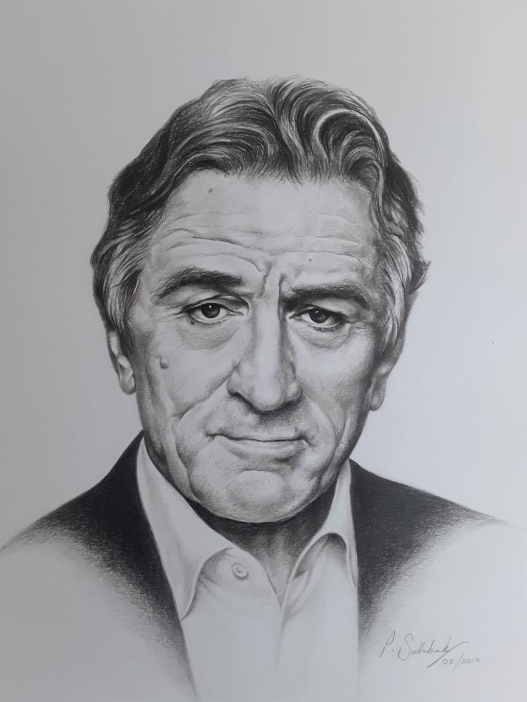 Robert De Niro by Sazz